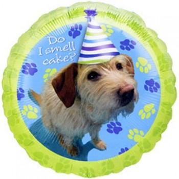 Palloncino Mylar 45 cm. Party Pups Do I Smell Cake?