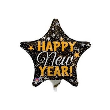 Palloncino Mylar 45 cm. Perfect Pink 80 Happy Birthday