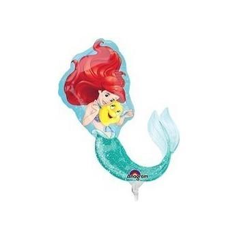 Palloncino Mylar 45 cm. Pink Sparkle Star