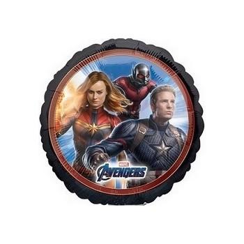 Palloncino Mylar 45 cm. Pink White Heart Polka Dots