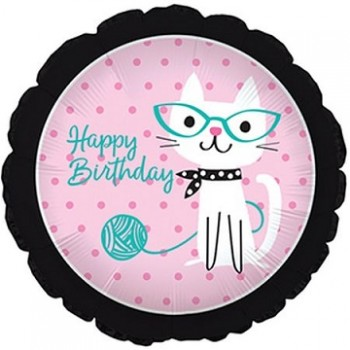 Palloncino Mylar 45 cm. Purrfect Party