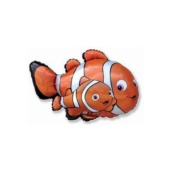 Palloncino Mylar 45 cm. Rainbow Love Heart