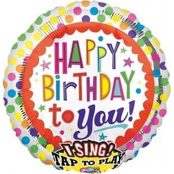 Palloncino Mylar 45 cm. Silver Swirl