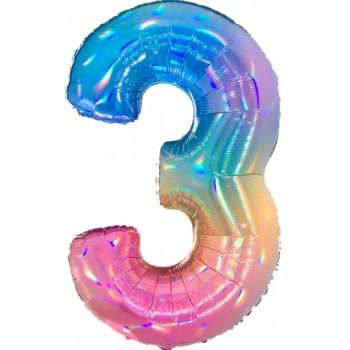Palloncino Mylar 45 cm. Smiley Baby Girl