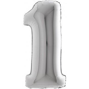 Palloncino Mylar 45 cm. Smiley Face Baby Girl Pacifier