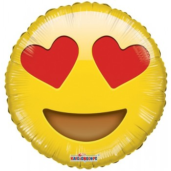 Palloncino Mylar 45 cm. Smiley In Love