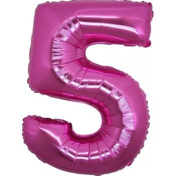 Palloncino Mylar 45 cm. Square Baby Girl Little Elephant