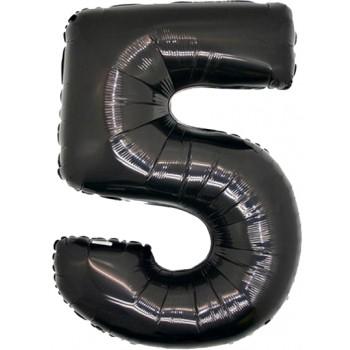 Palloncino Mylar 45 cm. Gold Polka Dot Heart