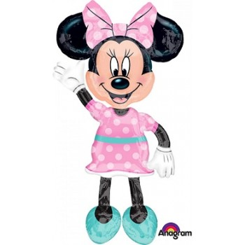 Palloncino Mylar Multi Balloon 137 cm. Minnie Mouse