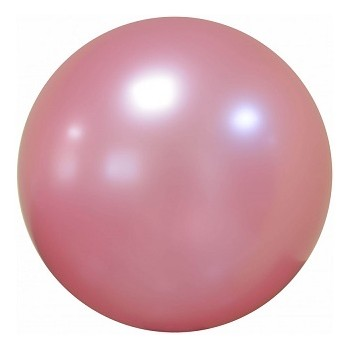 Palloncino Deco Bubble Rosa Antico Chrome 61 cm.