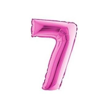 Palloncino Deco Bubble Rosa Antico Chrome 60 cm.