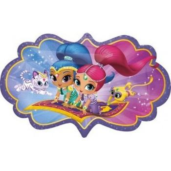 Piatto Blu 22 cm. 8 pz Carta