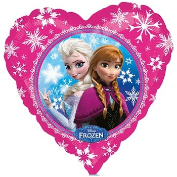 Palloncino Mylar 45 cm. Disney Frozen Love