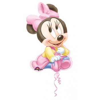 Palloncino Mylar Super Shape 84 cm. Baby Minnie