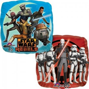 Palloncino Mylar Mini Shape 22 cm. Angry Birds King Pig