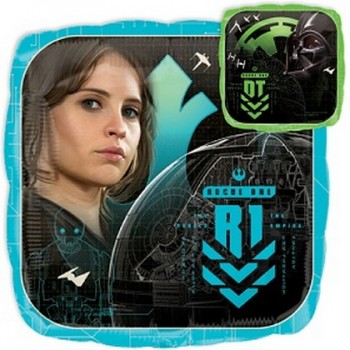 Palloncino Mylar Mini Shape 22 cm. Angry Birds Yellow Bird