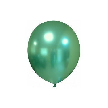 Palloncino in Lattice Rotondo 17 cm. Chrome Green