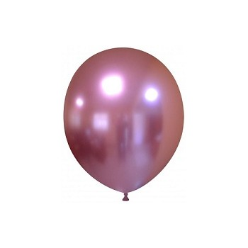 Palloncino in Lattice Rotondo 17 cm. Chrome Mauve