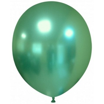 Palloncino in Lattice Rotondo 30 cm. Chrome Green