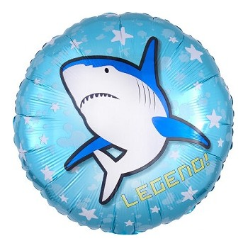 Palloncino Mylar 45 cm. Epic Party Shark