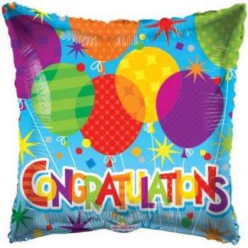 Palloncino Mylar 45 cm. Age 13° Perfect Pink Happy Birthday