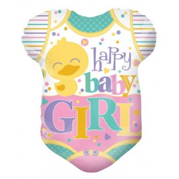 Palloncino Mylar 45 cm. Baby Clothes Girl