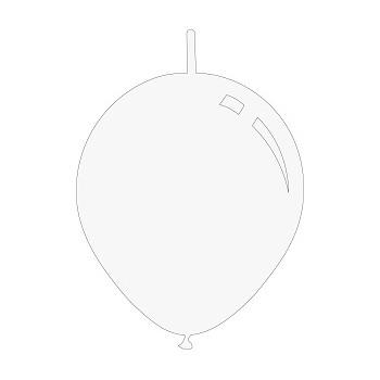 Palloncino Mylar 45 cm. Glitter Birthday Princess