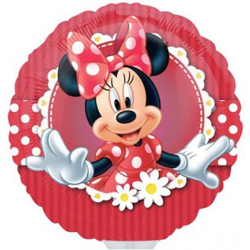 Palloncino Mylar 45 cm. Mad About Minnie