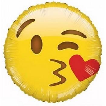 Palloncino Mylar 45 cm. Pink & Gold Milestone Happy Birthday