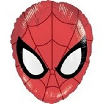 Palloncino Mylar 45 cm. Ultimate Spider-Man Head Shape