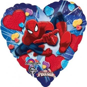 Palloncino Mylar 45 cm. Ultimate Spider-Man Love