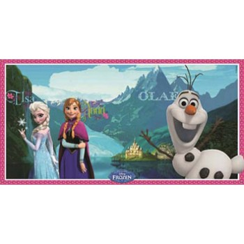 Decorazione a muro cartoons Frozen, 150 x 77 cm.